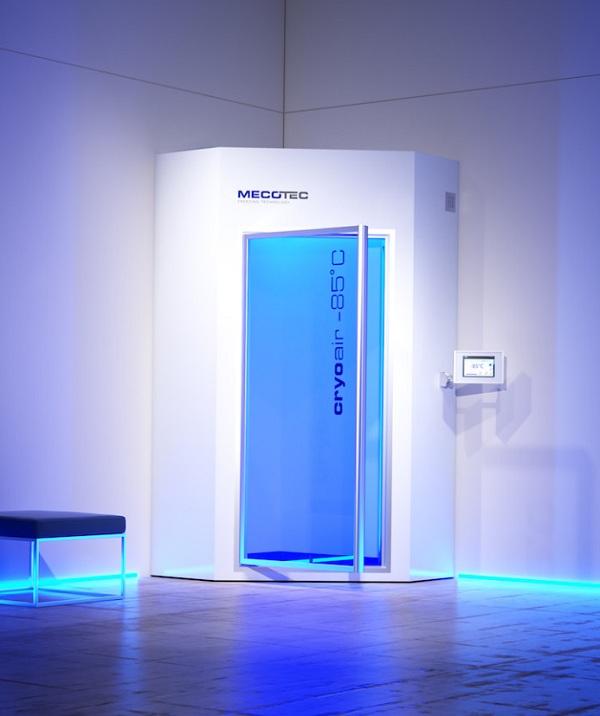 sauna per crioterapia