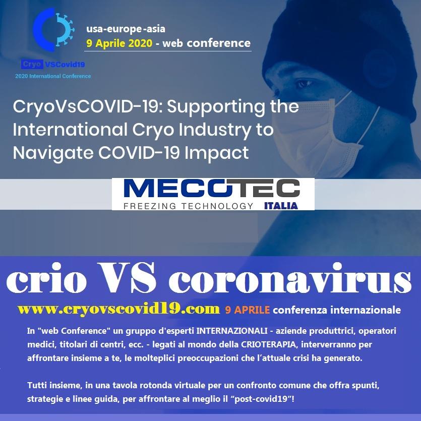cryoteraphy vs coronavirus